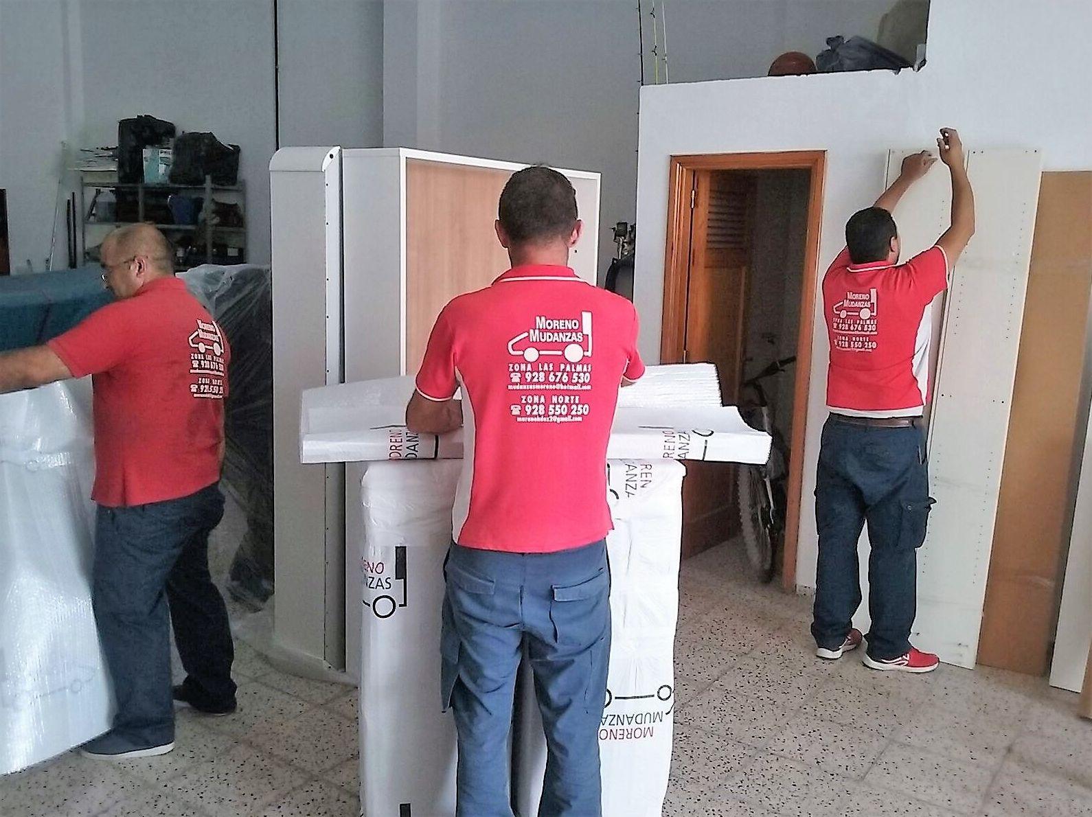 Foto 2 de Mudanzas en Gáldar | Mudanzas Moreno
