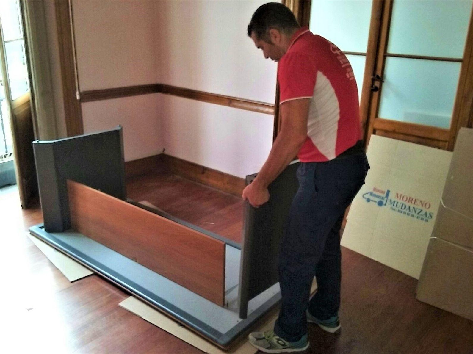 Desmontaje y montaje de muebles: Nuestros servicios de Mudanzas Moreno