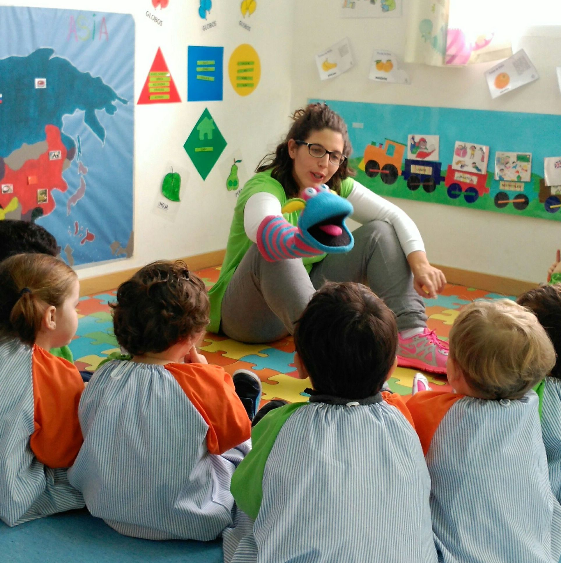 ENGLISH: Servicios de Escuela Infantil Crecer