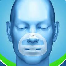 APOSBUC. apósito buco-nasal antirronquidos.