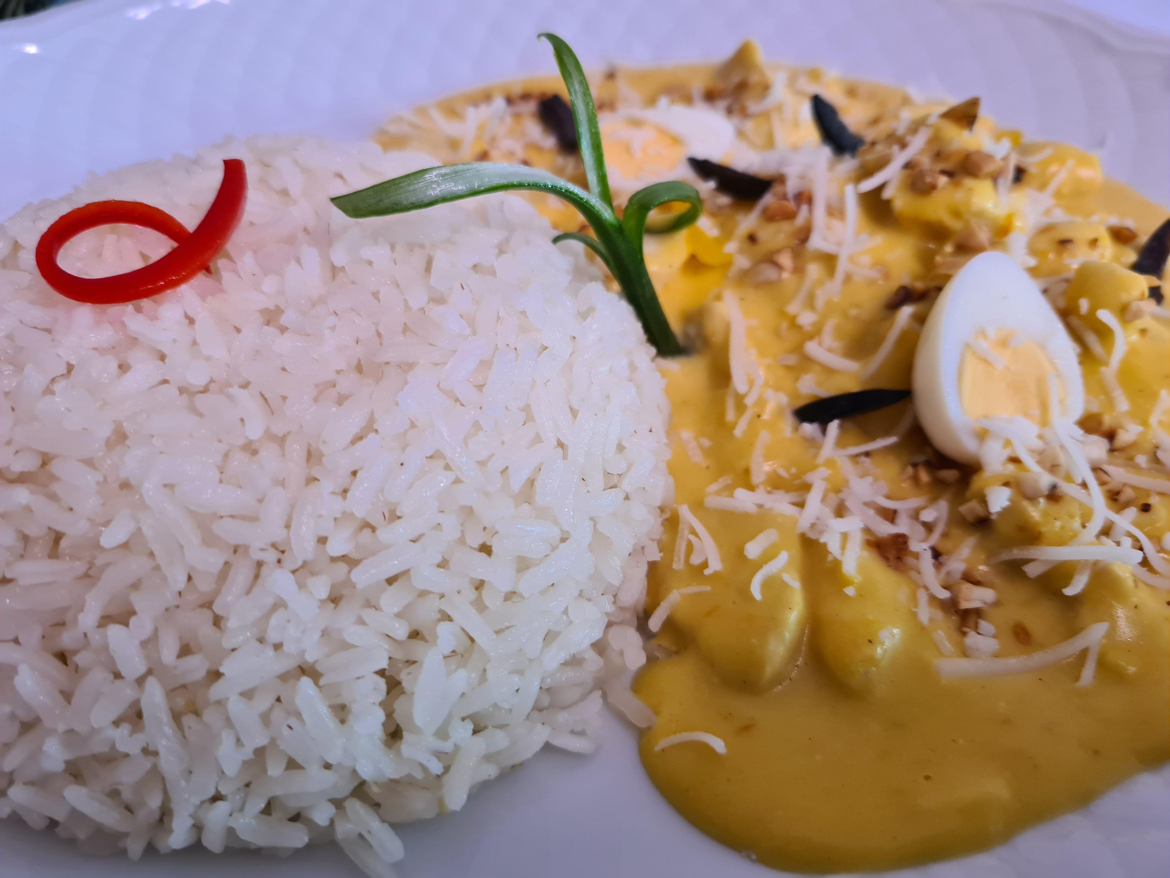 Menu peruano Salamanca
