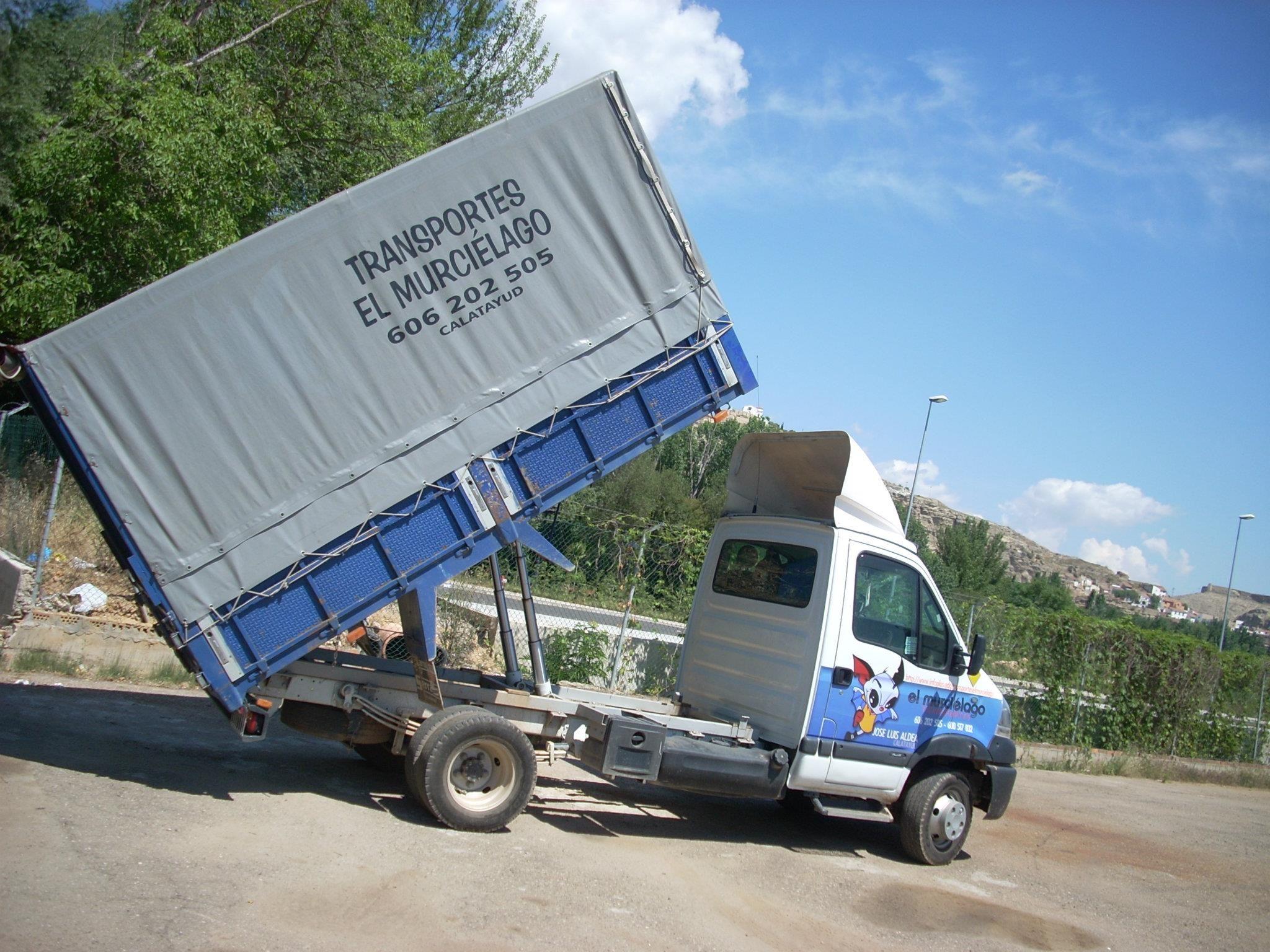 Empresa de transporte de mercancías Zaragoza