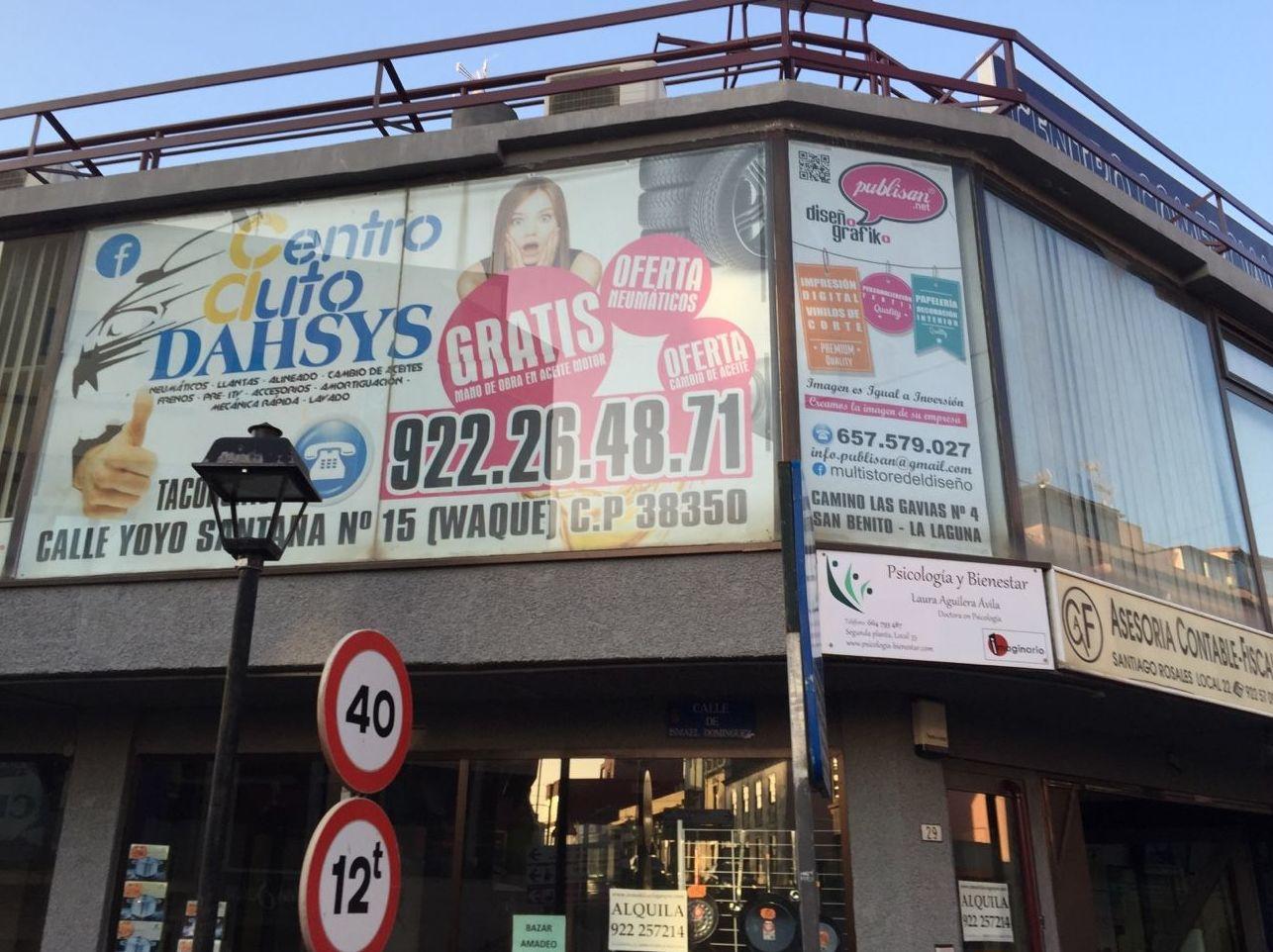 Foto 146 de Talleres de automóviles en Tacoronte | Centro Auto Dahsys