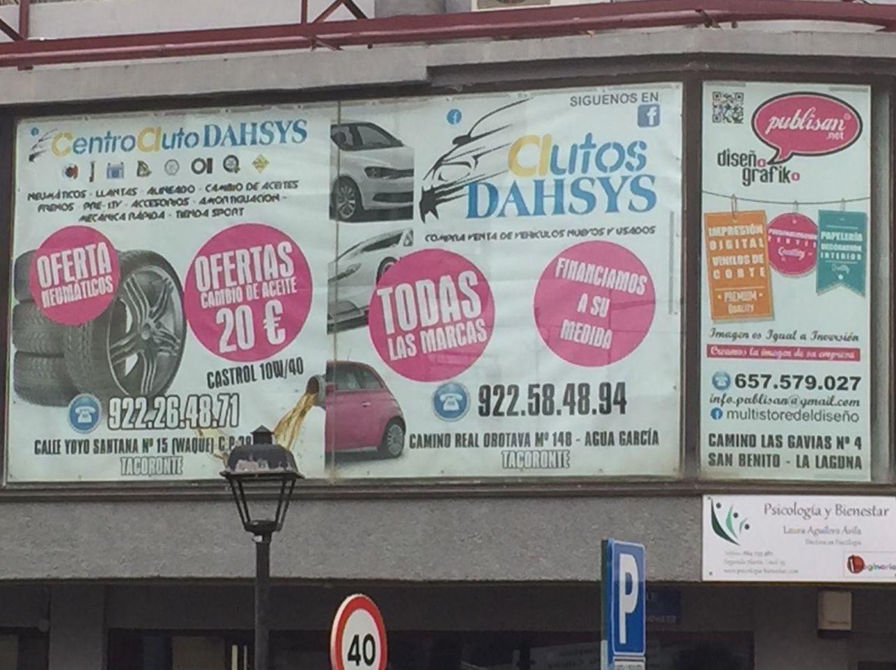 Foto 157 de Talleres de automóviles en Tacoronte | Centro Auto Dahsys