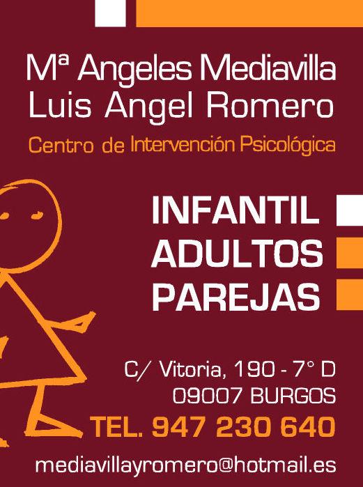 Foto 1 de Psicólogos en Burgos | Psicólogos Mª Ángeles Mediavilla y Luis A. Romero