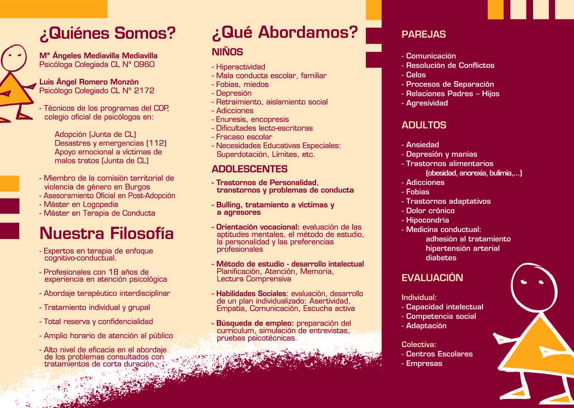 Foto 3 de Psicólogos en Burgos | Psicólogos Mª Ángeles Mediavilla y Luis A. Romero