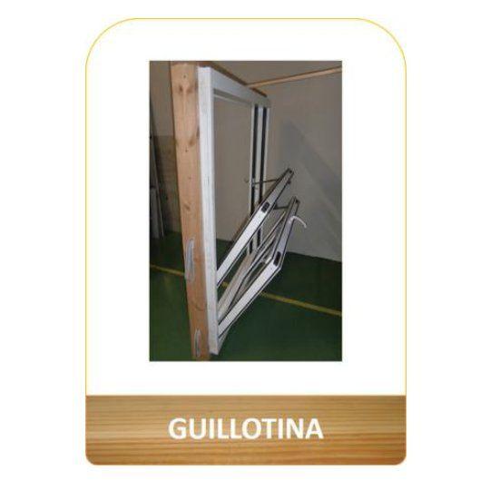 Ventana Guillotina: Productos de Carpintería Ortal