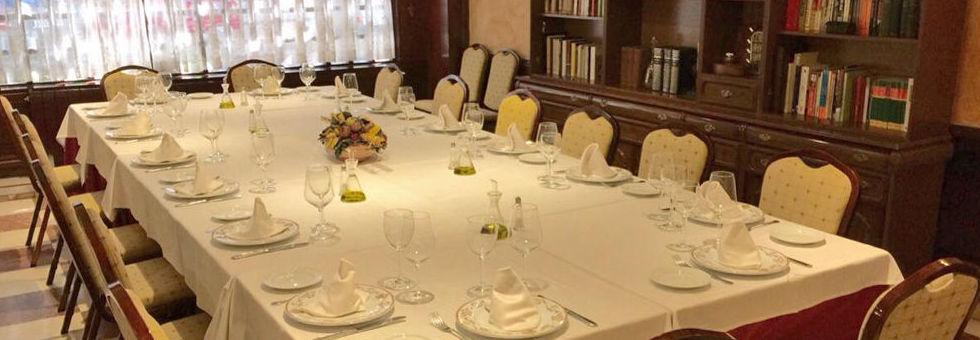 Restaurante Mesón del Cid. Salón Imperial