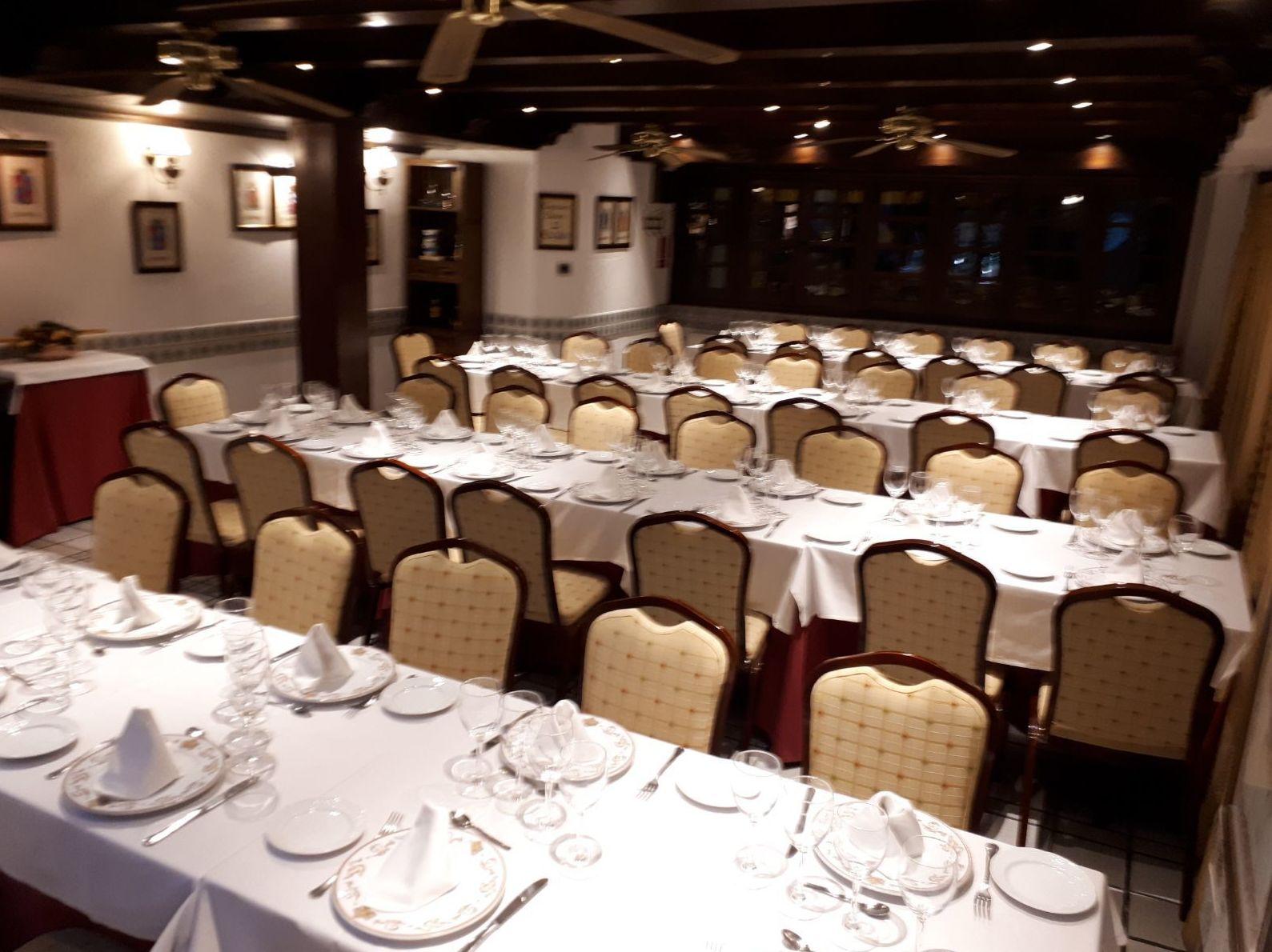 Restaurante Mesón del Cid. Madrid
