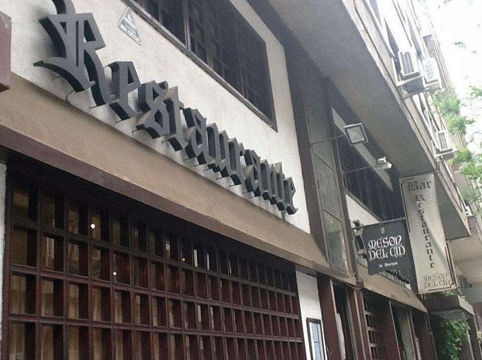 Restaurante situado en el centro de Madrid