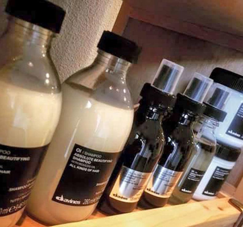 Venta de productos para el cabello