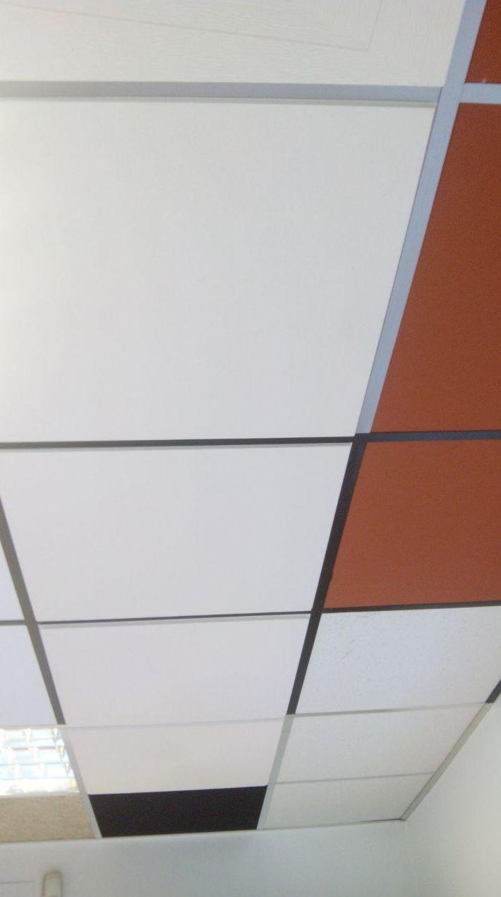 Instalación de techos desmontables
