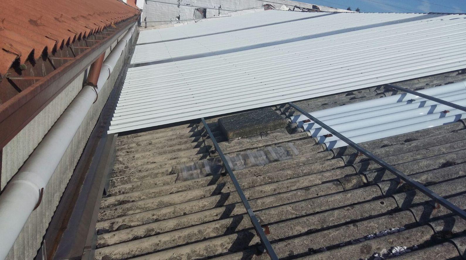 Revestimiento de tejados