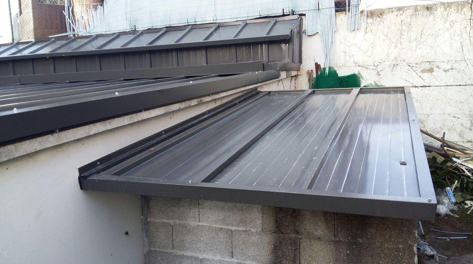 Revestimientos metálicos para cubiertas