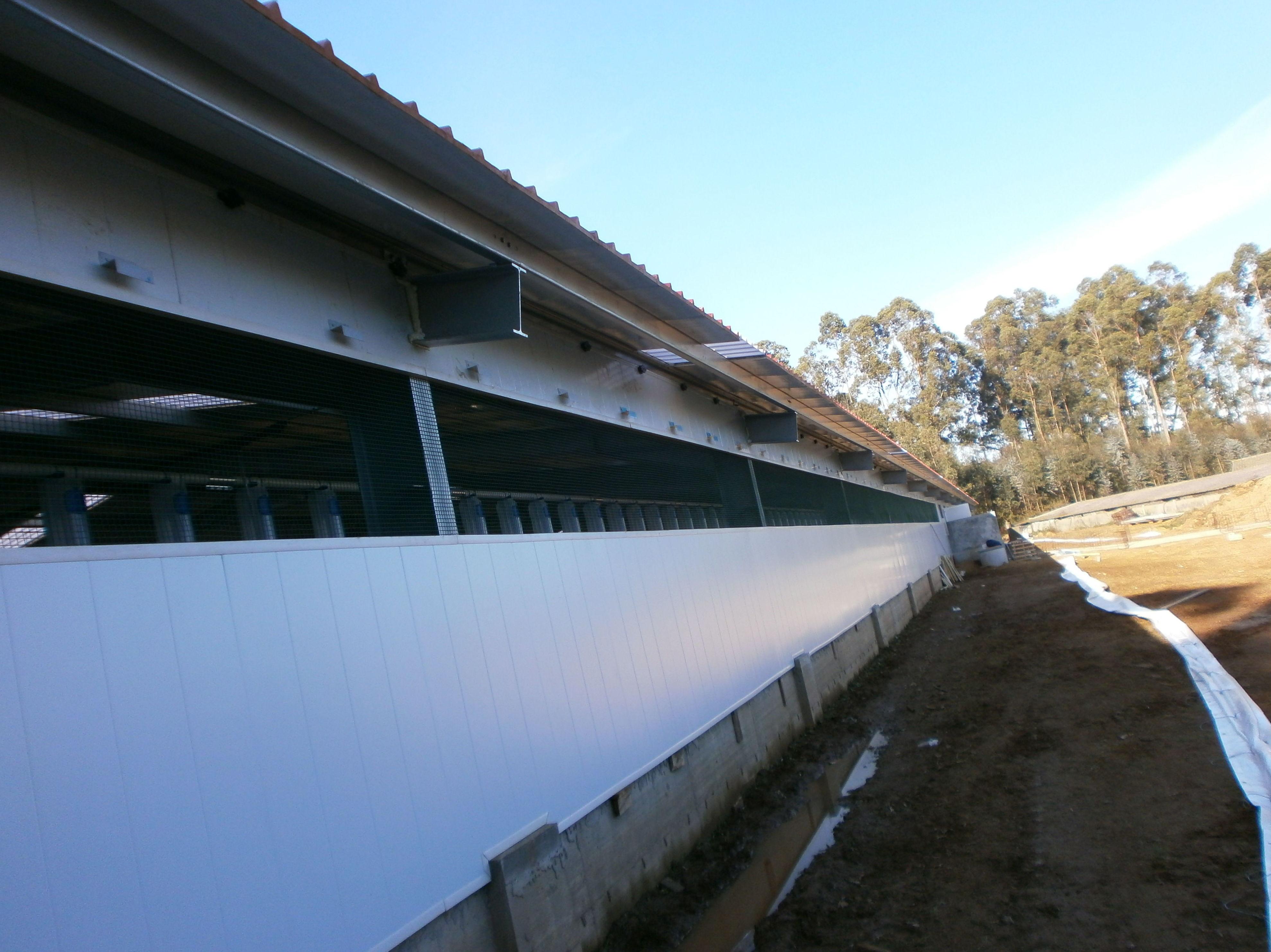 Revestimiento de fachadas con paneles