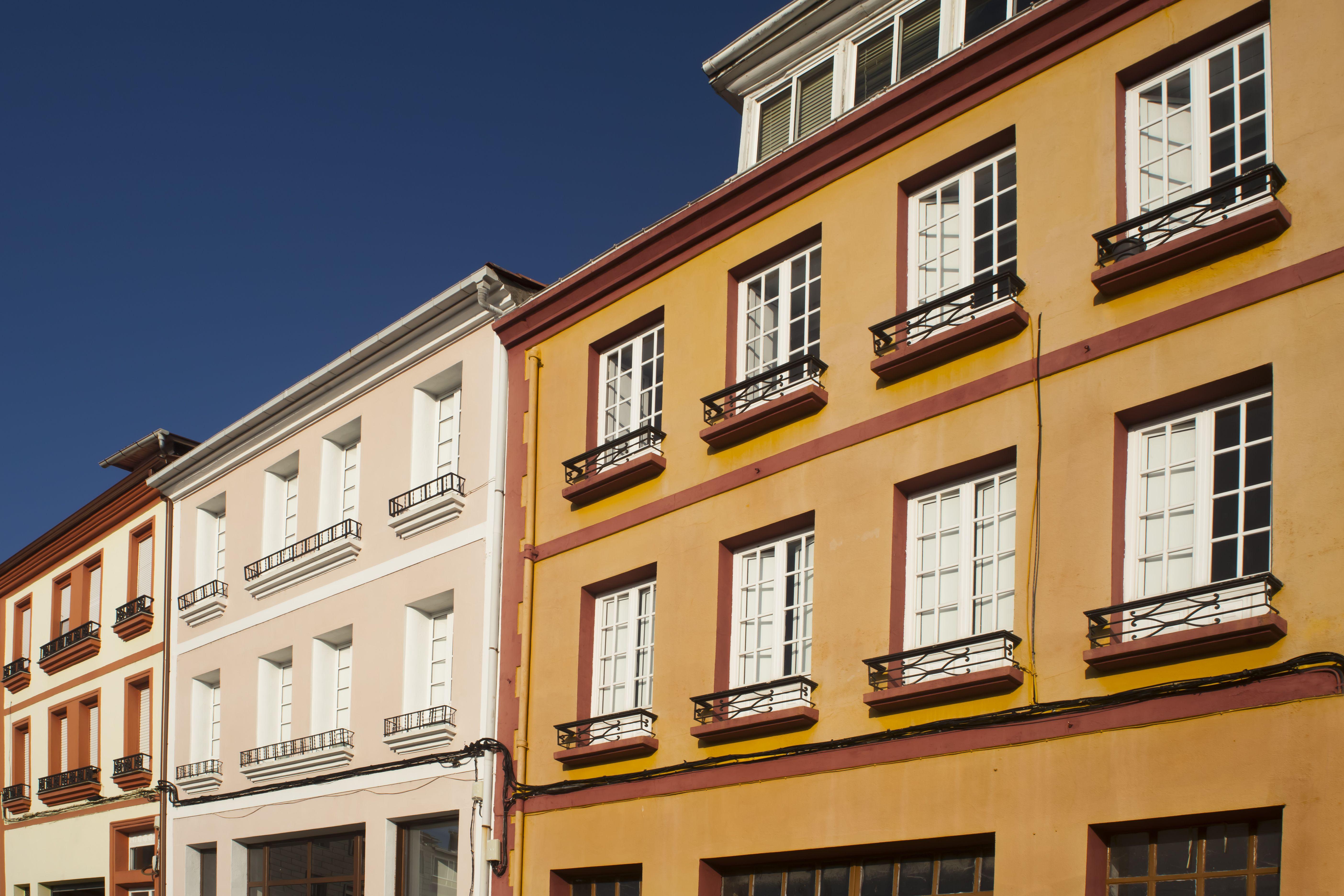 Rehabilitación de fachadas: Servicios de Construcciones CMC