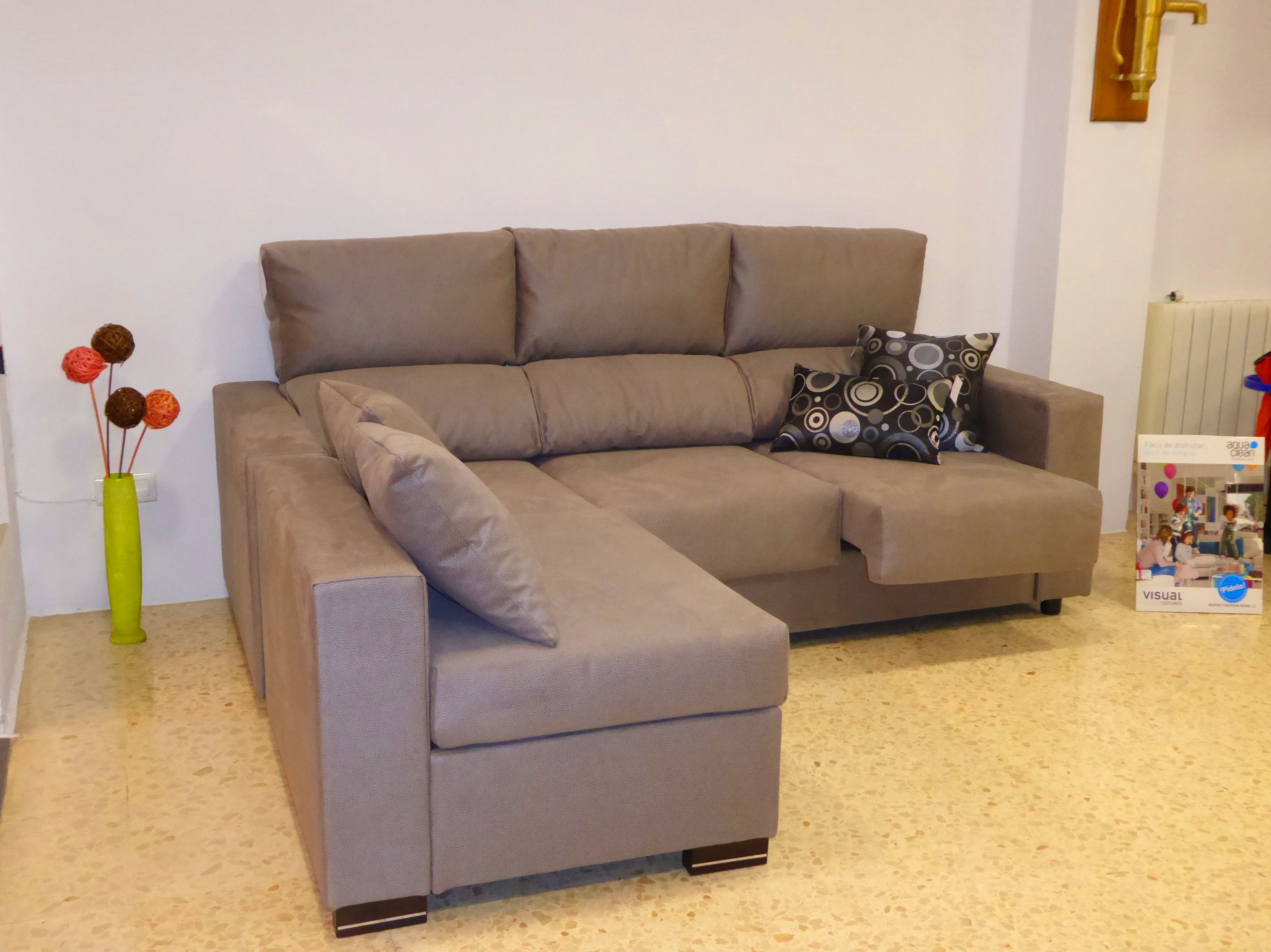 OFERTA SOFA CHAISELONGUE SOLO POR 840 EUROS.