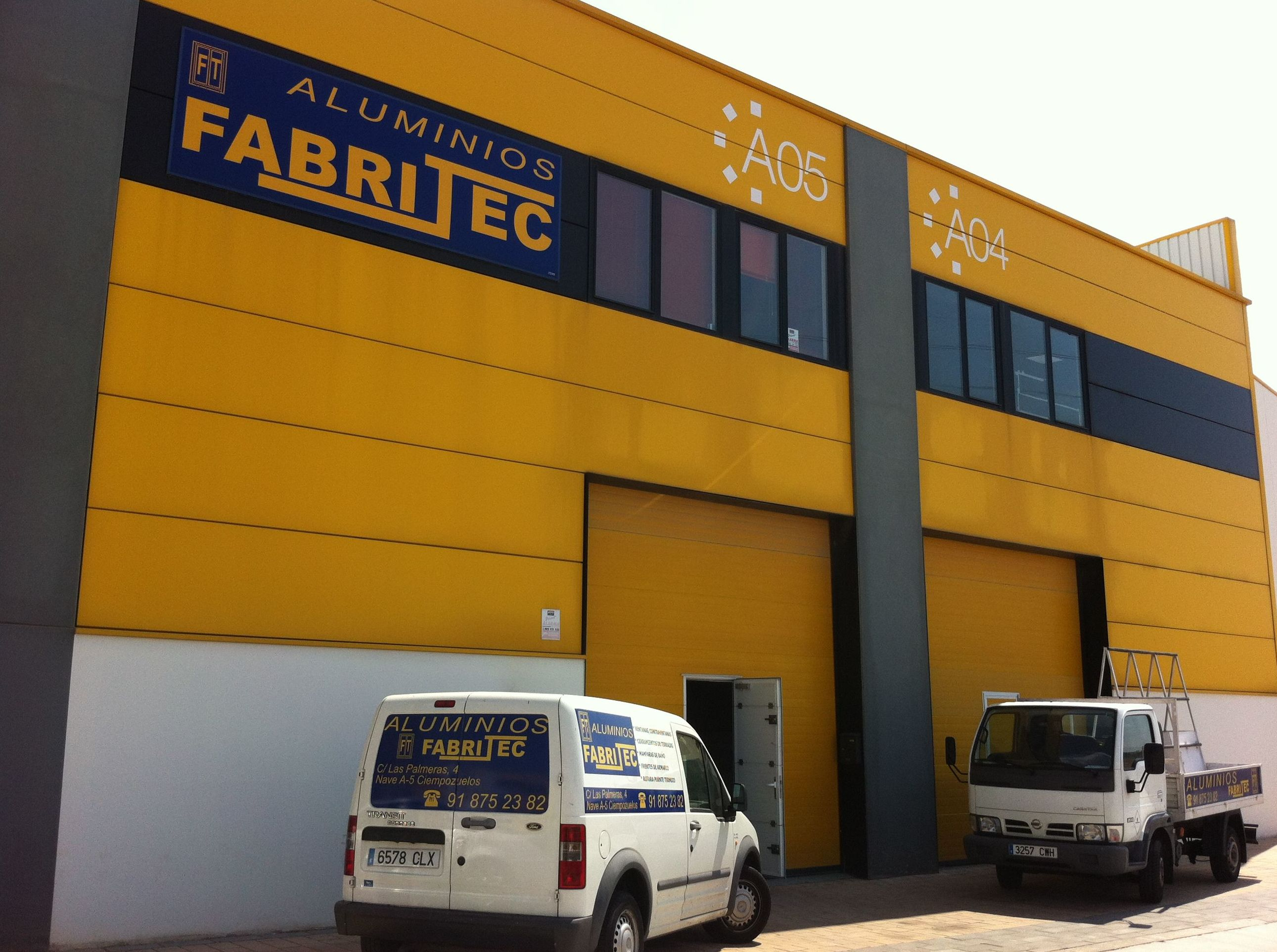 Empresa especializada en fabricación a a medida de ventanas de aluminio y carpintería de aluminio