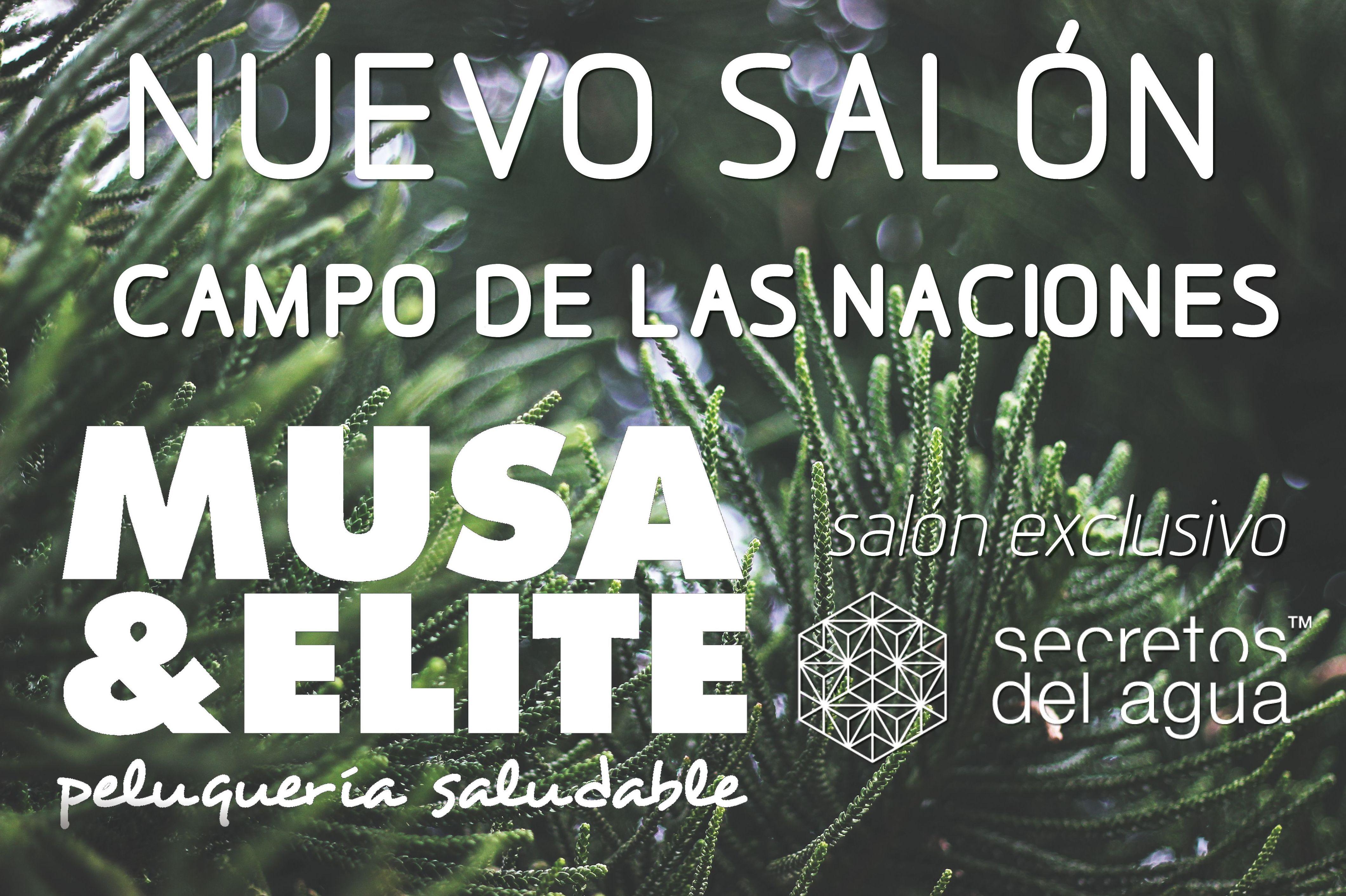 Cartel apertura Campo de las Naciones. Musa&Elite Premium