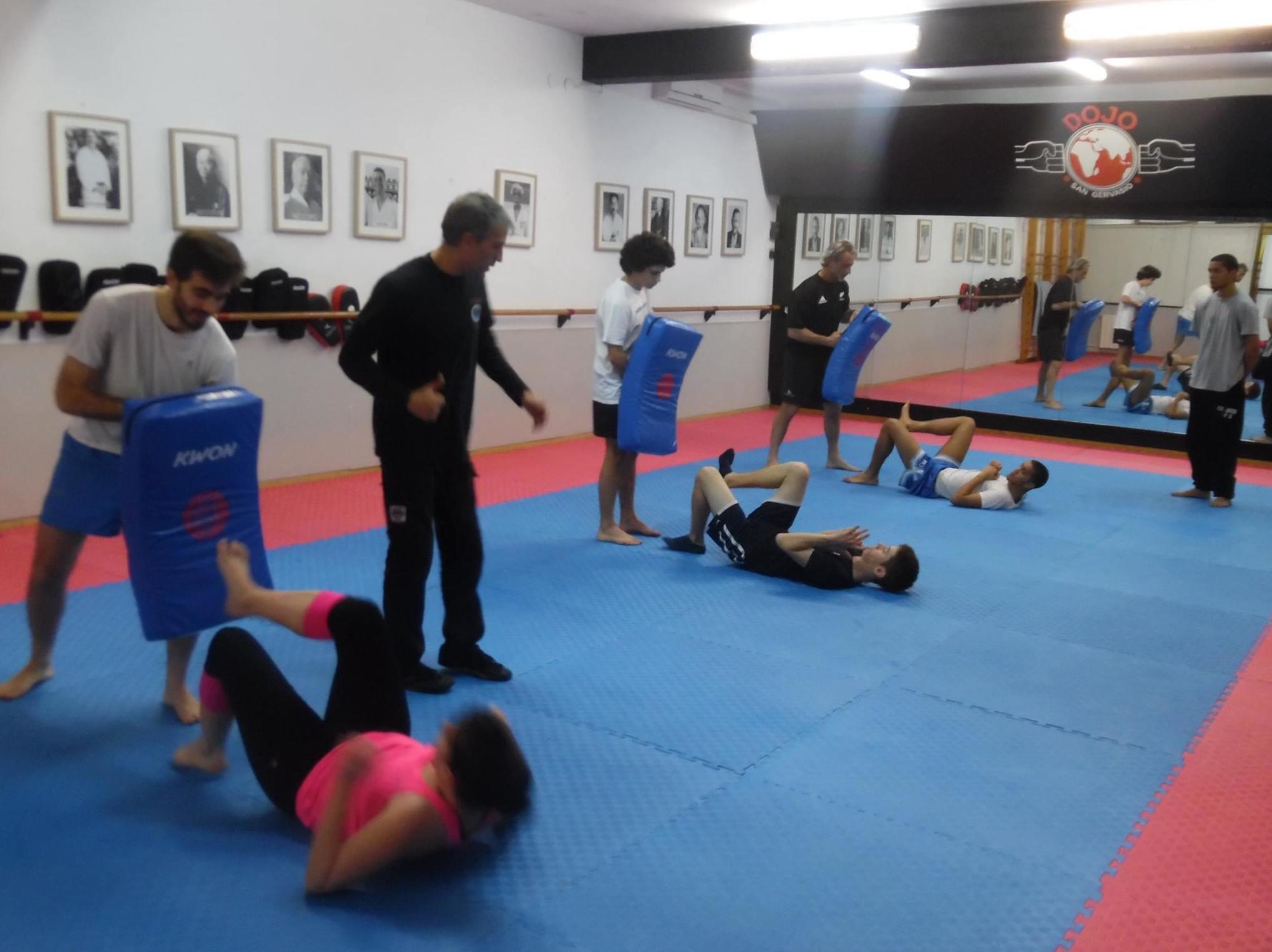 Dojo, artes marciales