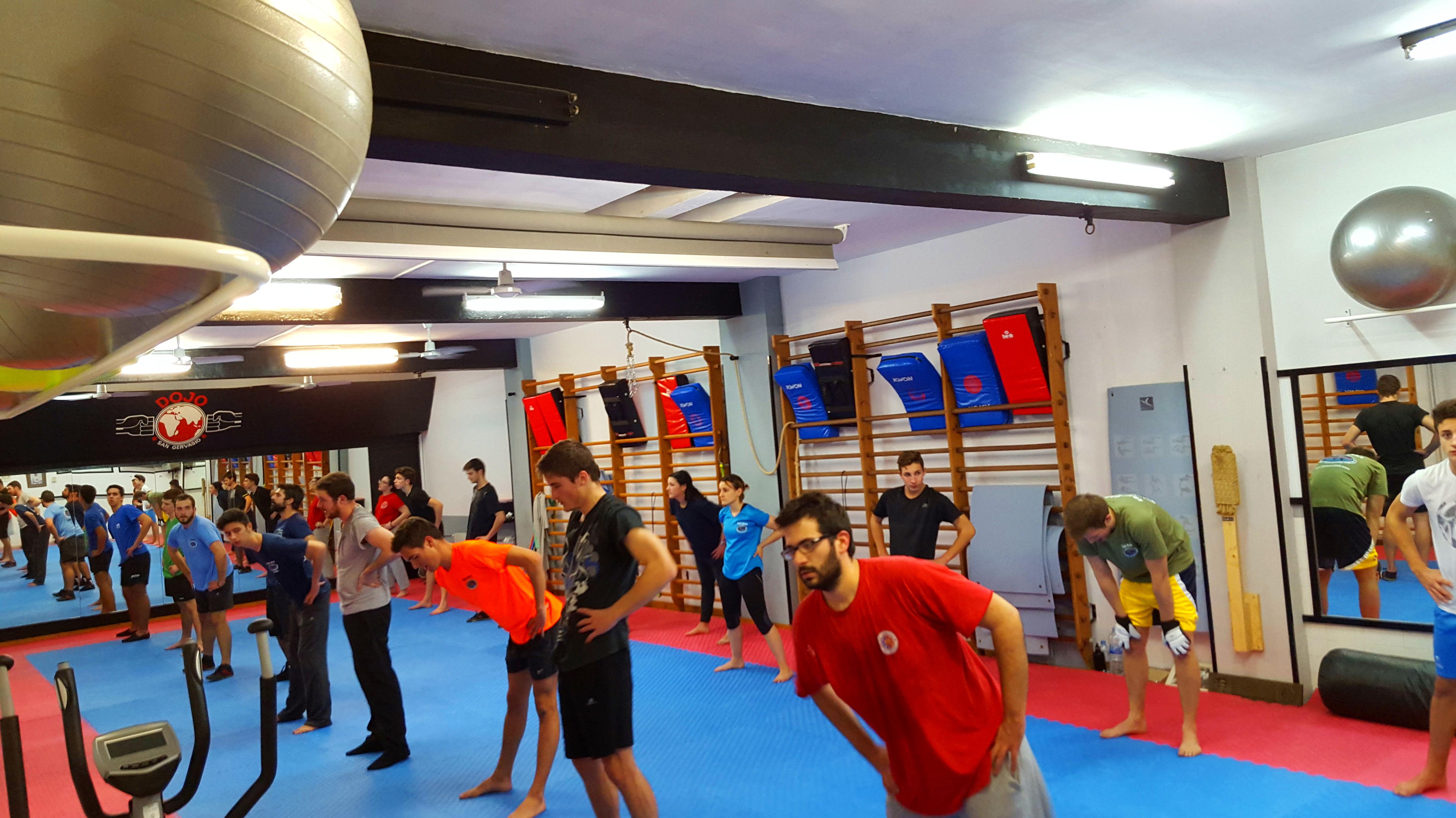 Foto 8 de Clases deportivas en Barcelona | Dojo Sant Gervasi