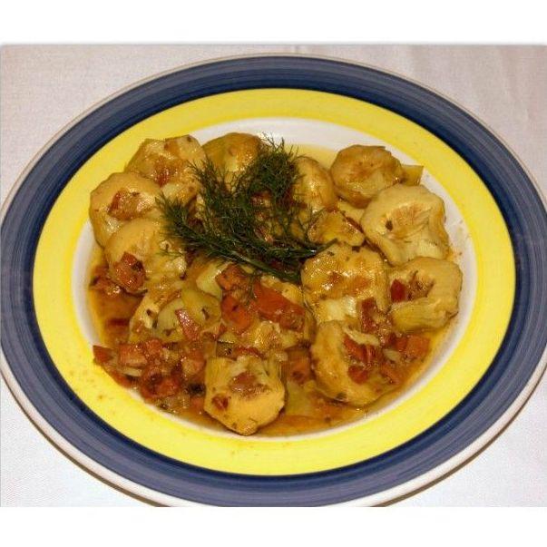 Huevos y verduras: Carta de La Posada