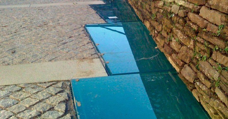 Suelos pisables de vidrio en A Coruña