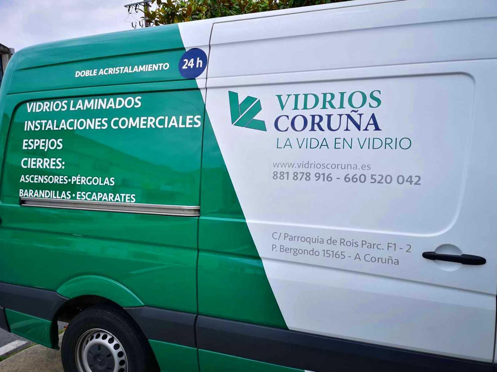 Foto 2 de Cristalerías en Bergondo | Vidrios Coruña