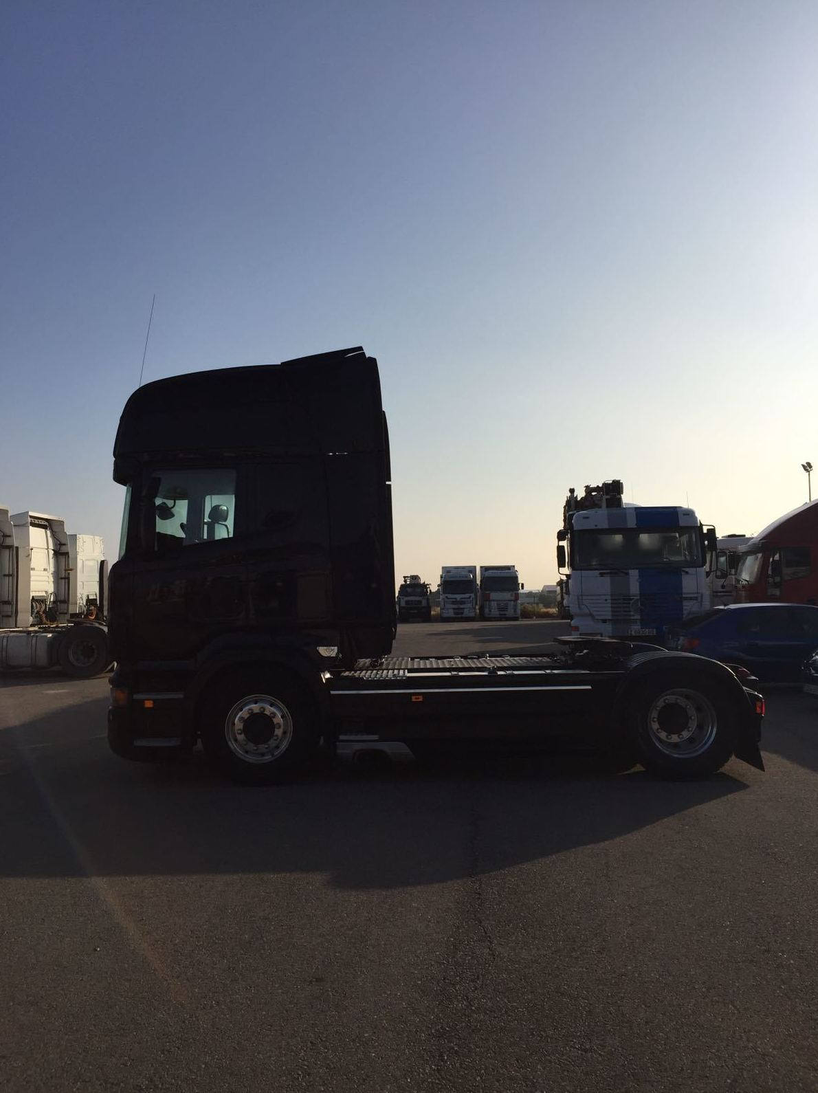 Venta de vehículos industriales