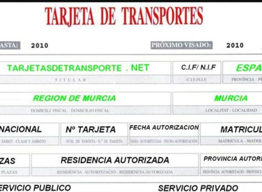 Tarjeta transporte 2.0
