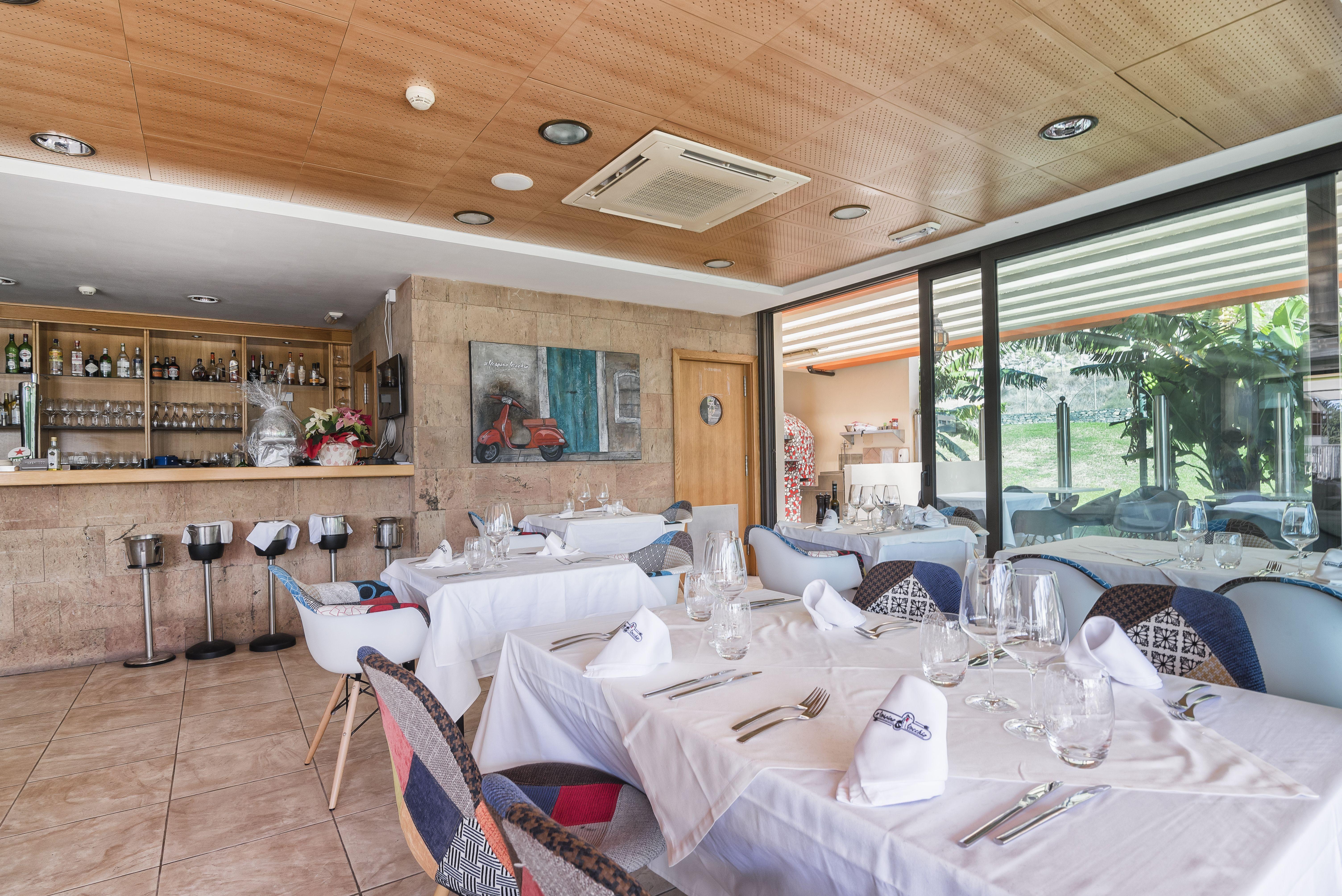 Foto 1 de Cocina italiana en Las Palmas de Gran Canaria | Il Vespino Vecchio