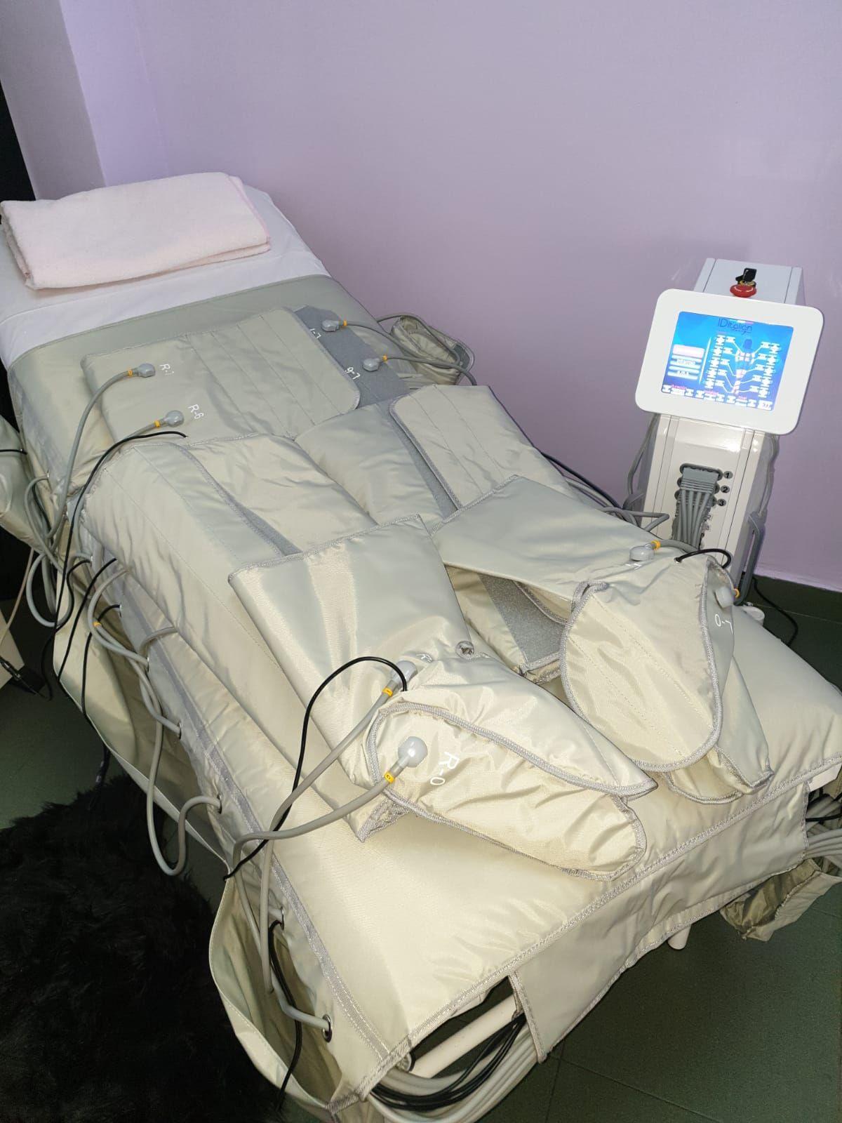Presoterapia en Parla