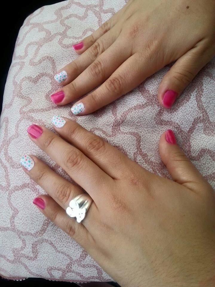 Luce las uñas más bonitas de la zona