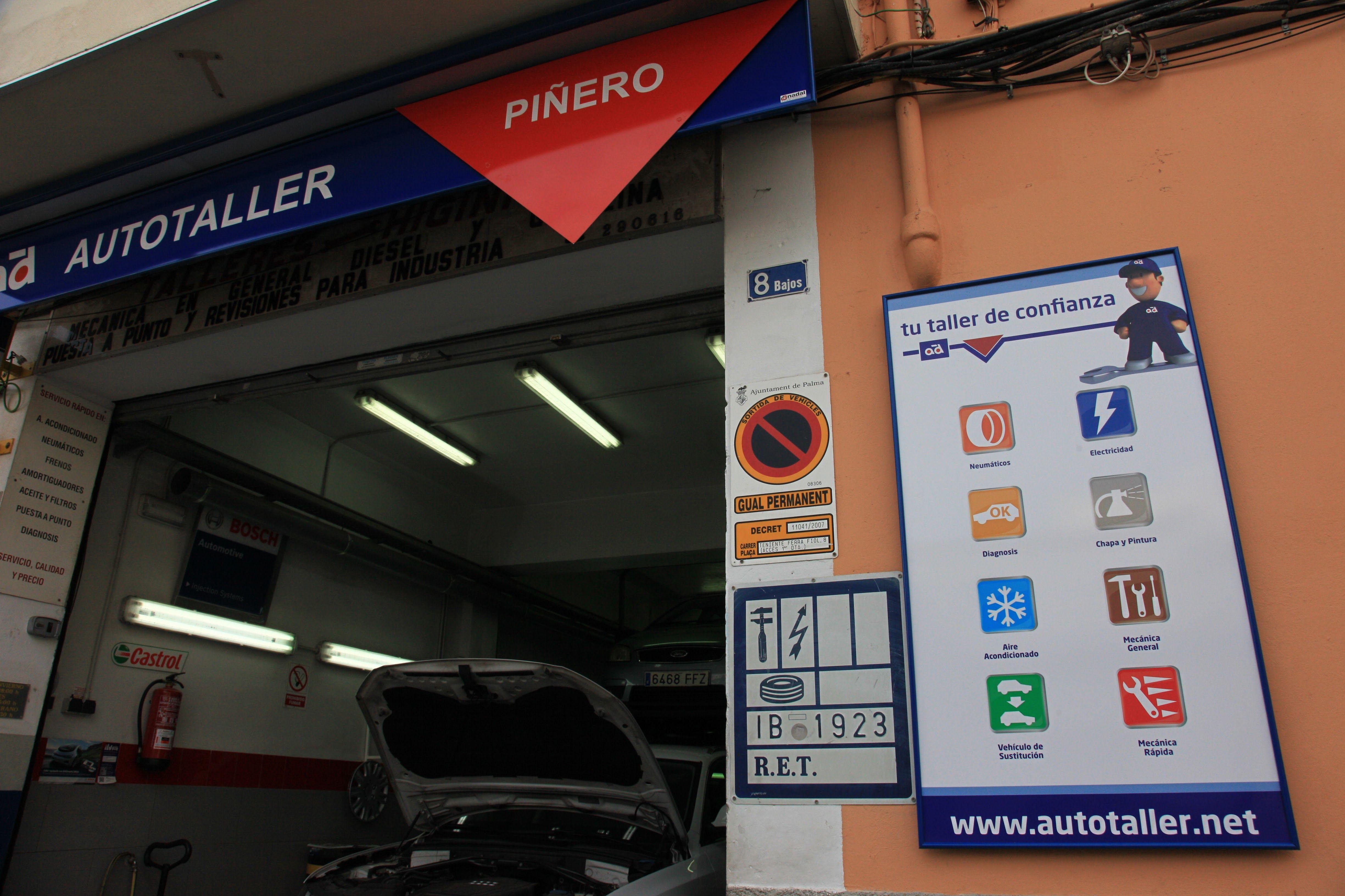 Foto 3 de Talleres de automóviles en Palma | Talleres Piñero