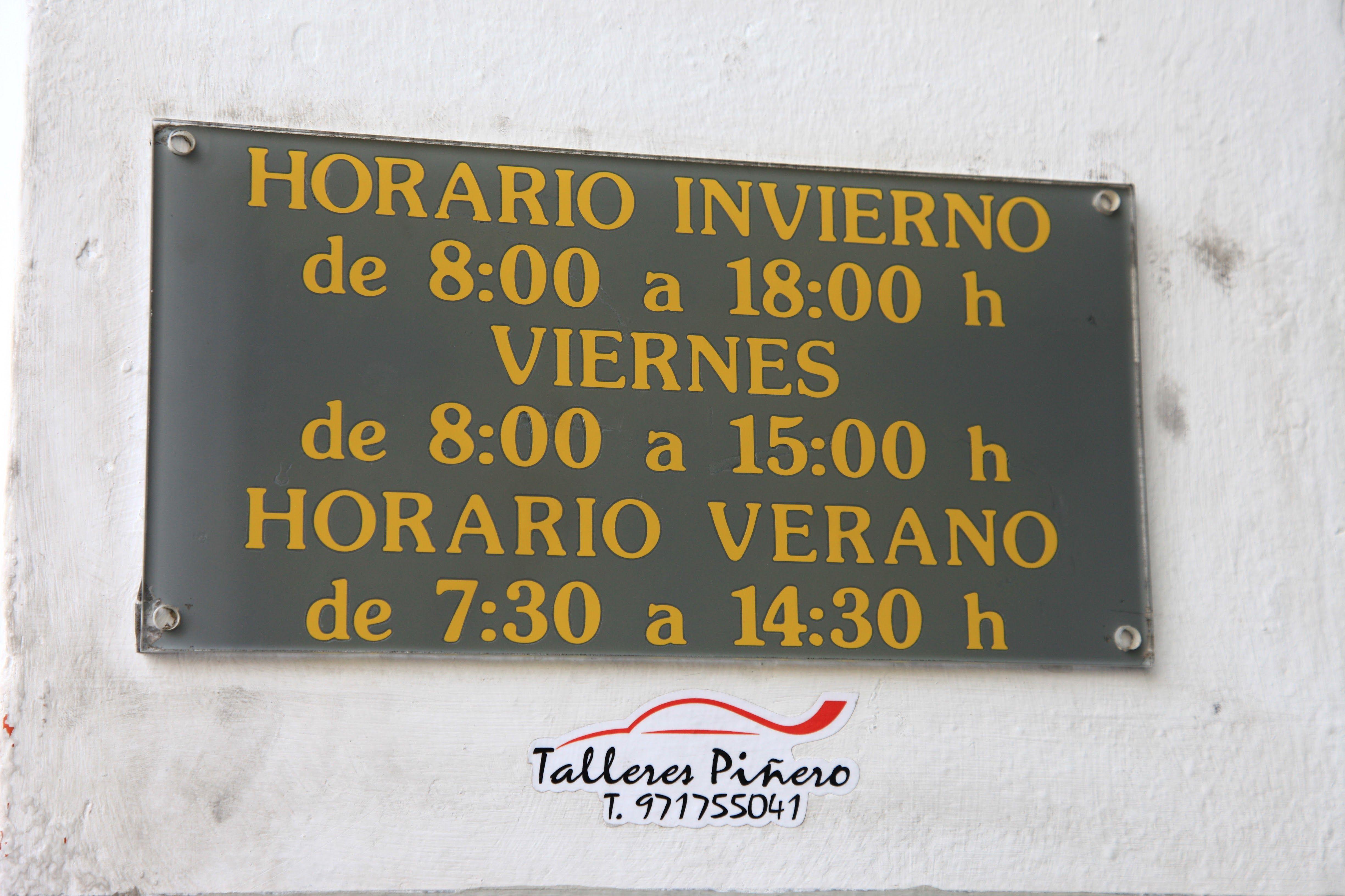 Foto 4 de Talleres de automóviles en Palma | Talleres Piñero