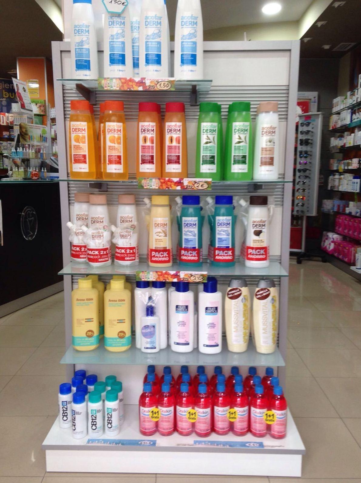 Productos dermofarmacia