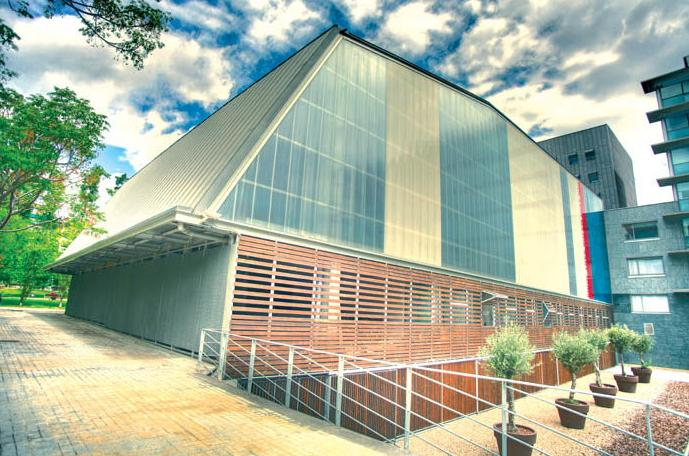 Vista del exterior del colegio