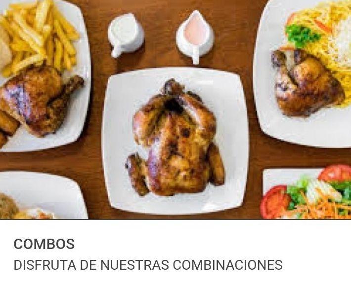 COMBOS FAMILIARES: Visita nuestra carta de Comida rápida peruana a domicilio