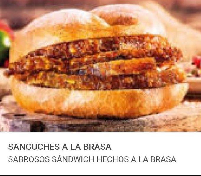 SANGUCHES A LA BRASA: Visita nuestra carta de Comida rápida peruana a domicilio