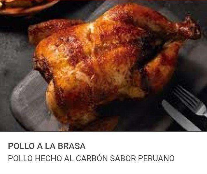 POLLO A LA BRASA: Visita nuestra carta de Comida rápida peruana a domicilio