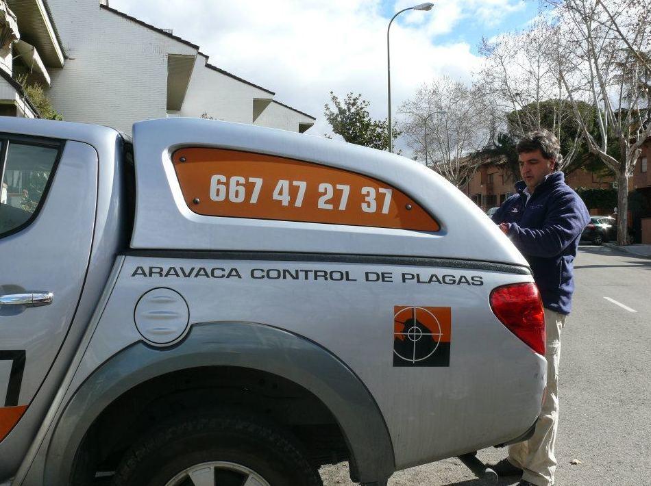 Empresa de control de plagas en la Comunidad de Madrid