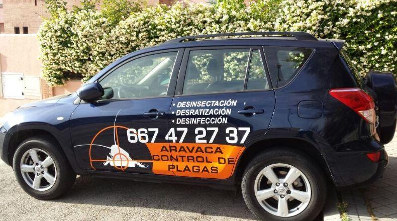 Empresa de control de plagas en Las Rozas