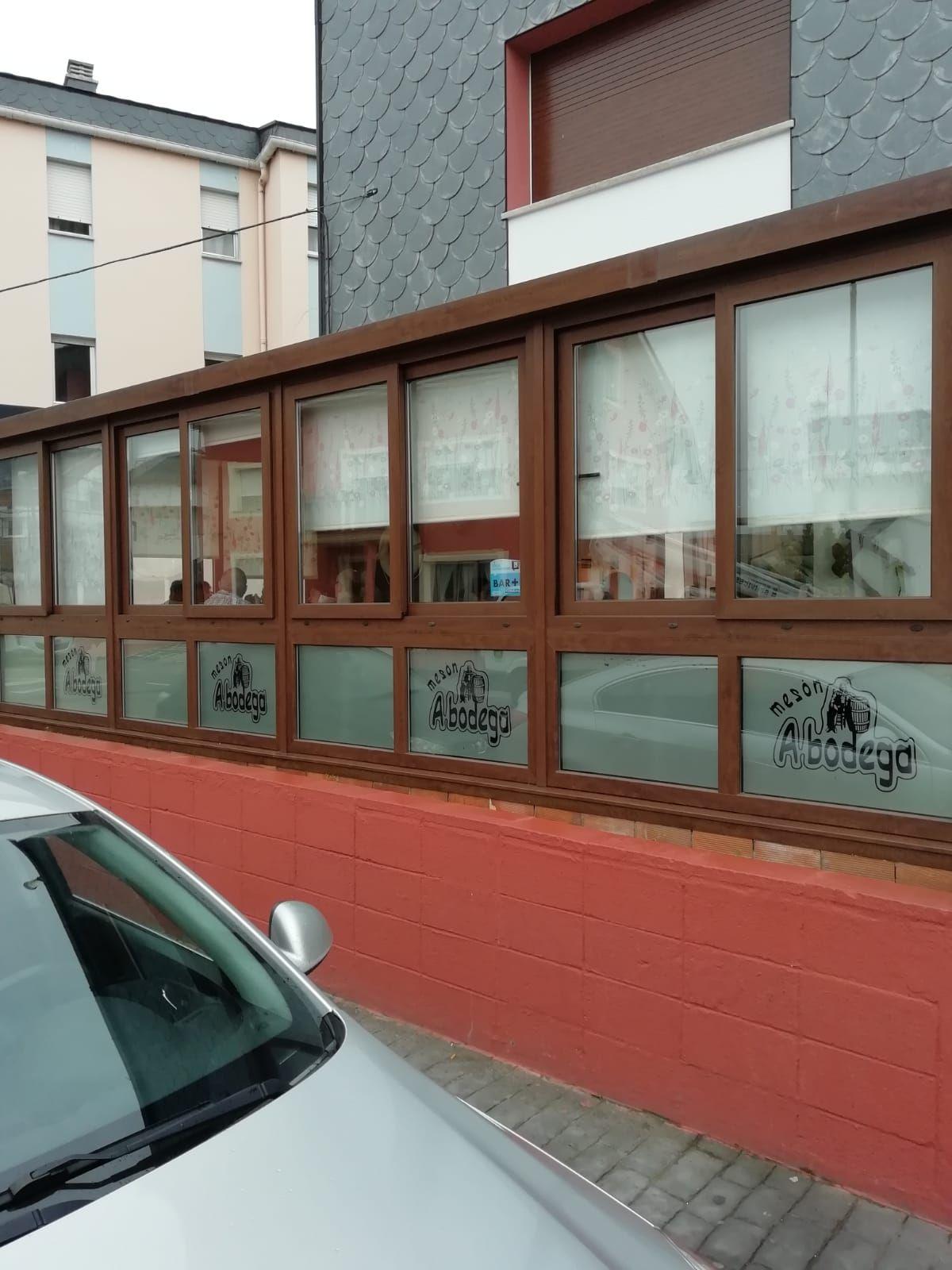 Cerramientos para hostelería