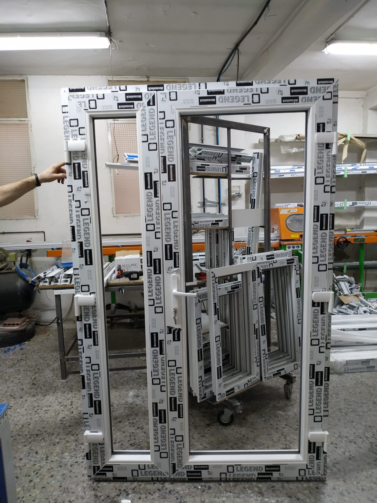 Aluminios Trinidad, expertos en PVC.