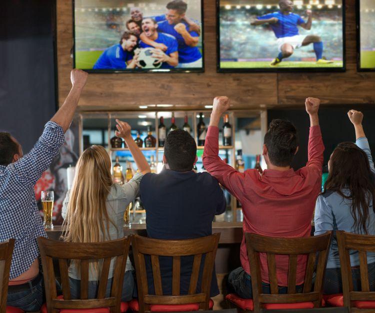 Bar para ver el fútbol en Barcelona