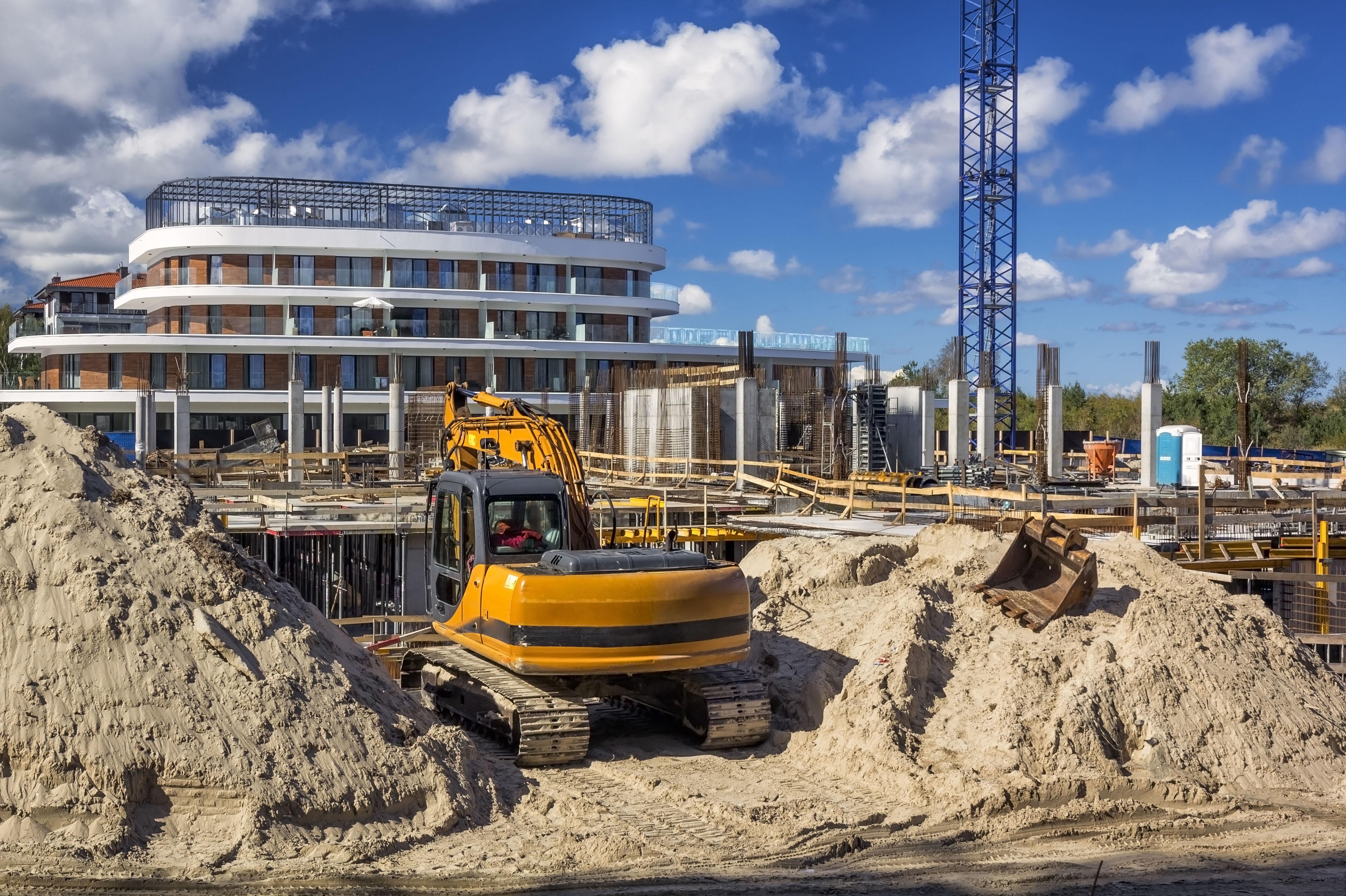 Alquiler de maquinaria para la construcción en Tomelloso