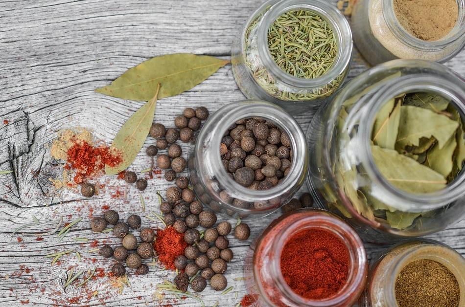 Aromas naturales de especias