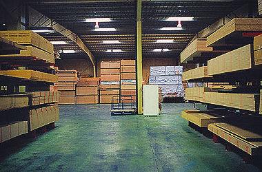 Almacén de Madera: Servicios de Maderas Masova
