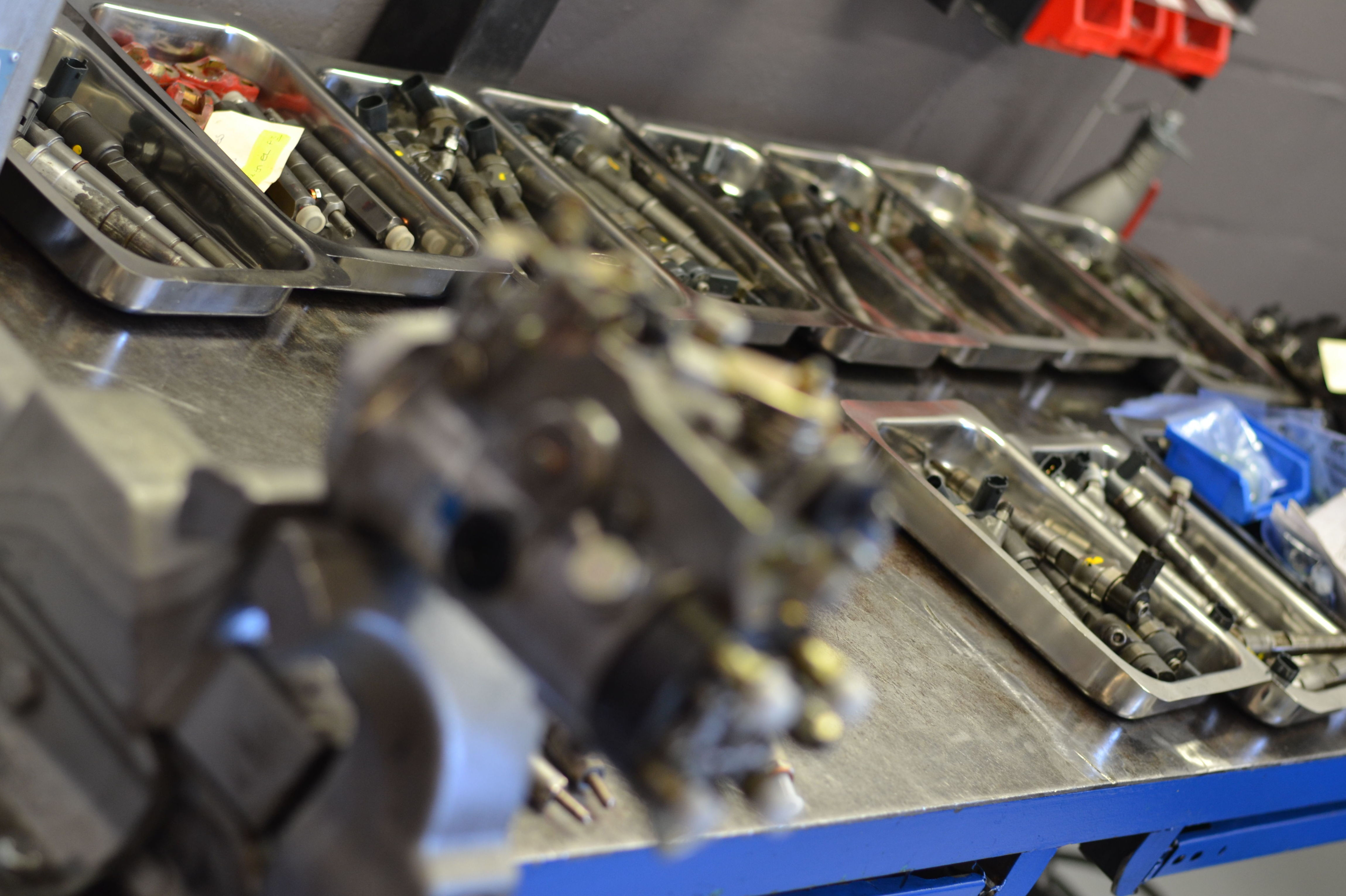 Reparación de inyectores y bomba de alta