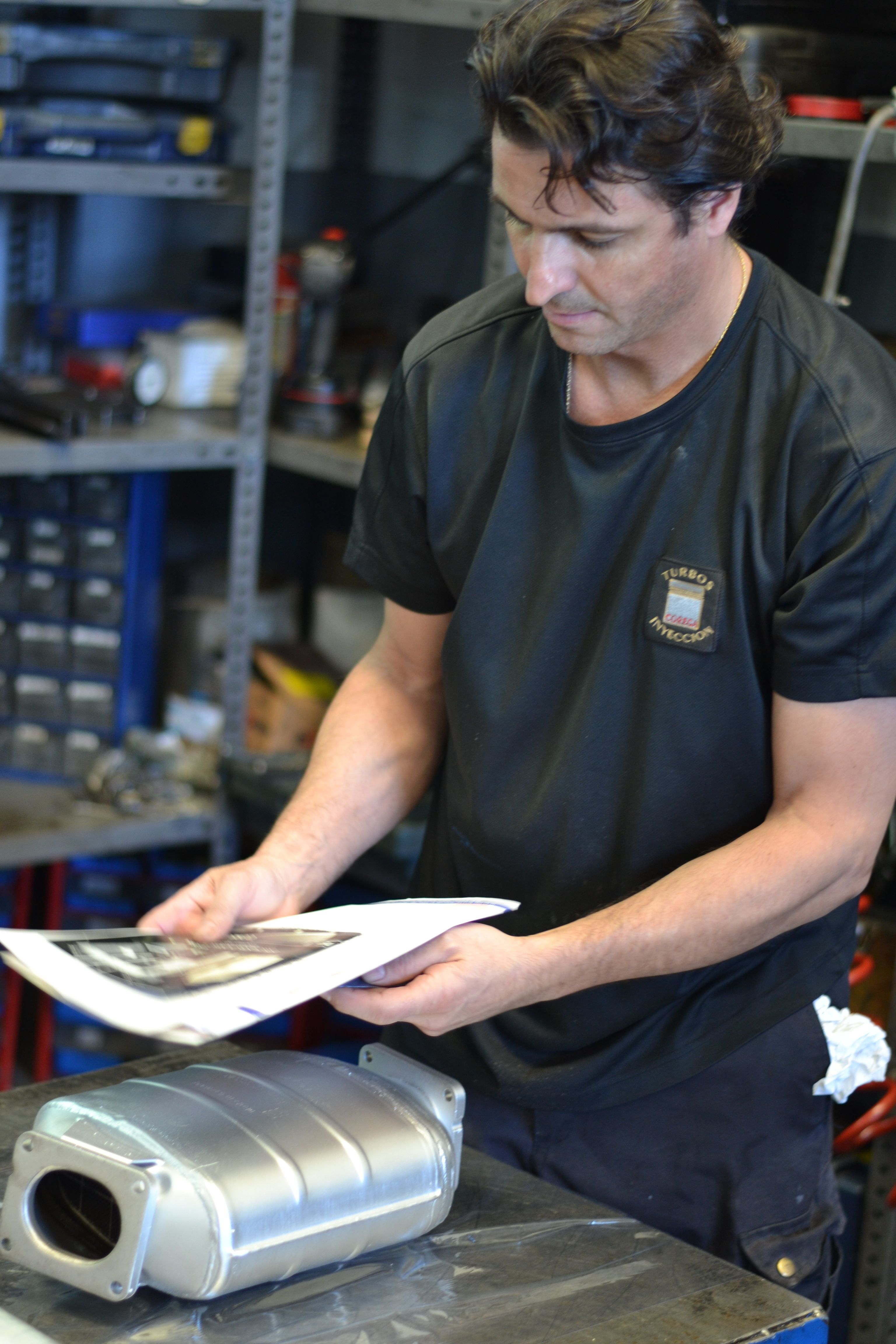 Limpieza filtros de partículas y nuevos: Servicios de Turbo Inyección Corega